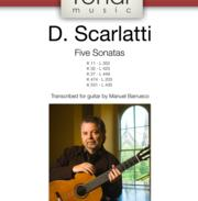 Five Sonatas by Scarlatti