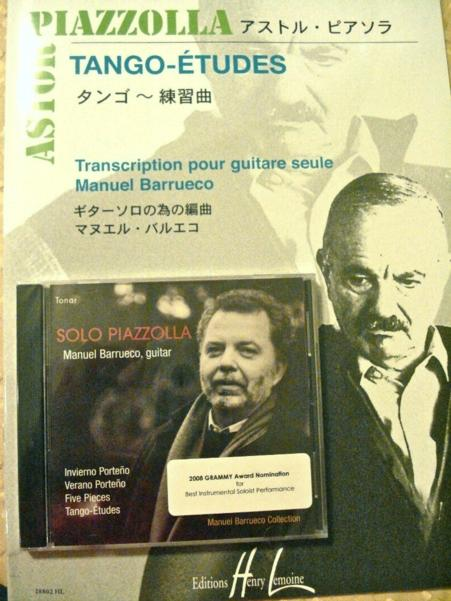 SPECIAL OFFER: <br> Solo Piazzolla & Tango-Etudes