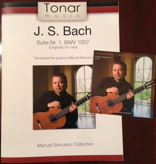 SPECIAL OFFER <br> Chaconne CD and Cello Suite transcription